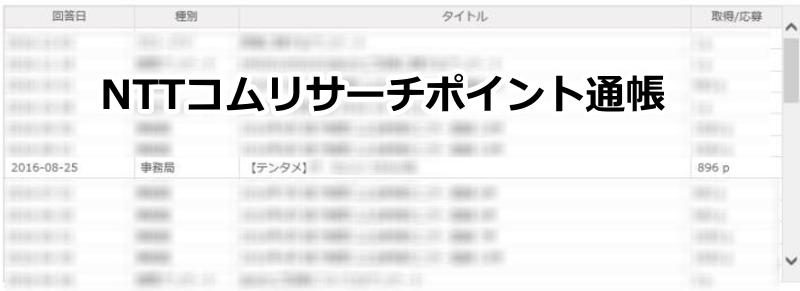 NTTコムリサーチの実績